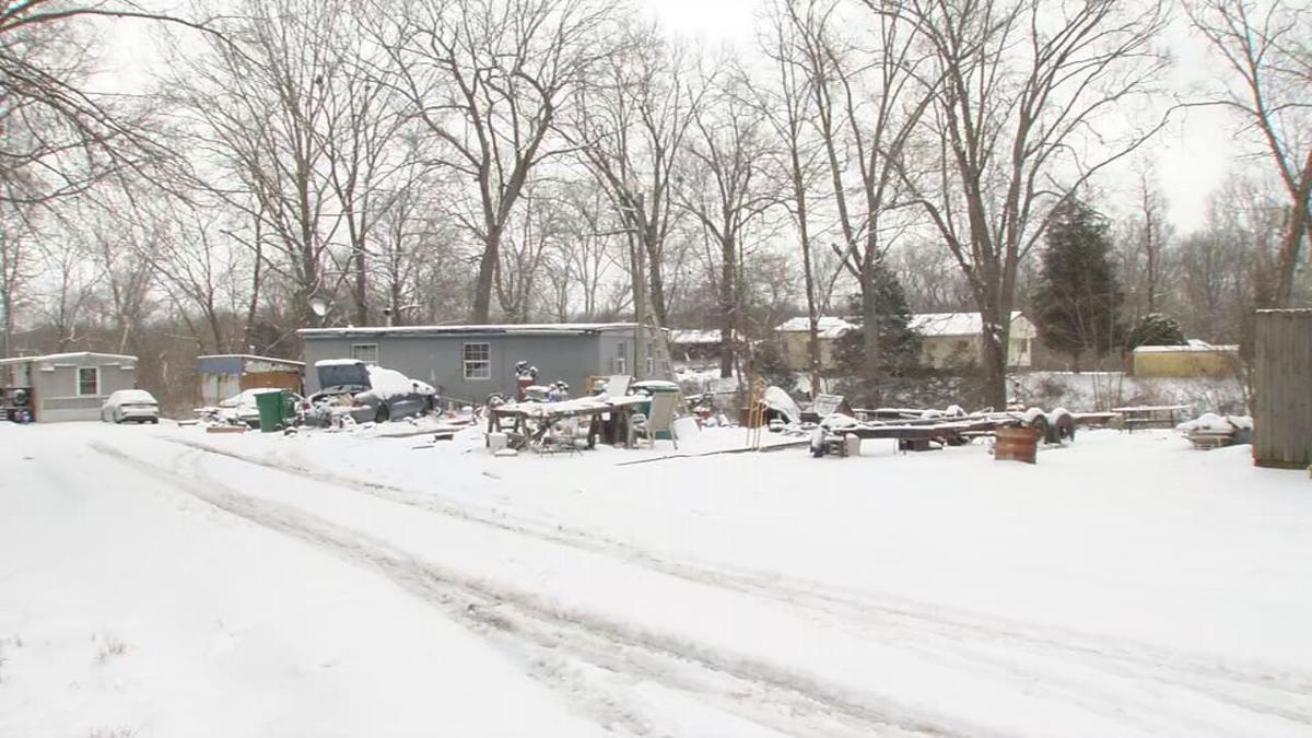 Bullitt County home where parents were arrested