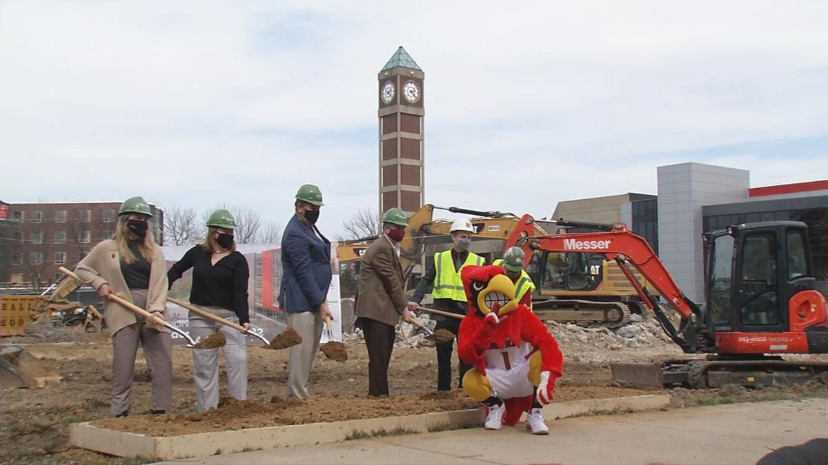 U of L New Dorm Groundbreaking