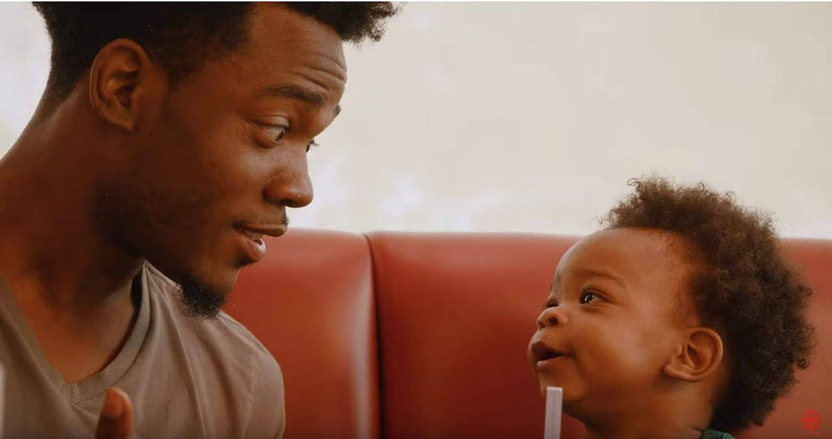DJ PRYOR AND SON IN DENNY'S AD - COURTESY DJ PRYOR ON YOUTUBE 4.jpg