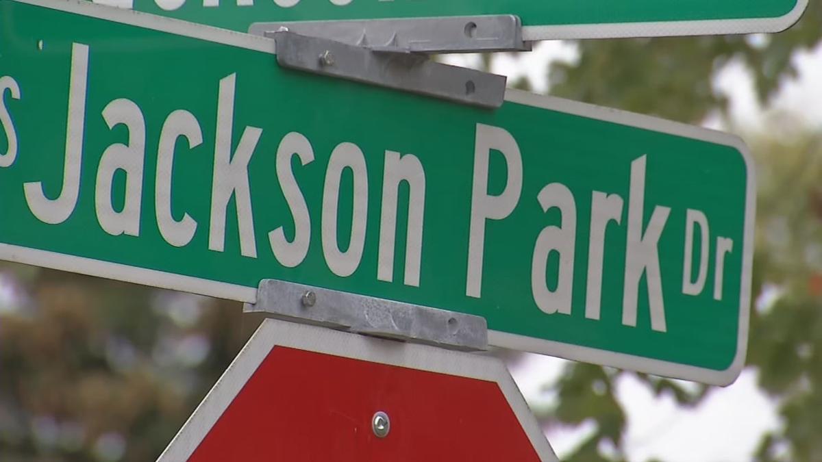 South Jackson Park Drive streetsign (Seymour, Indiana)