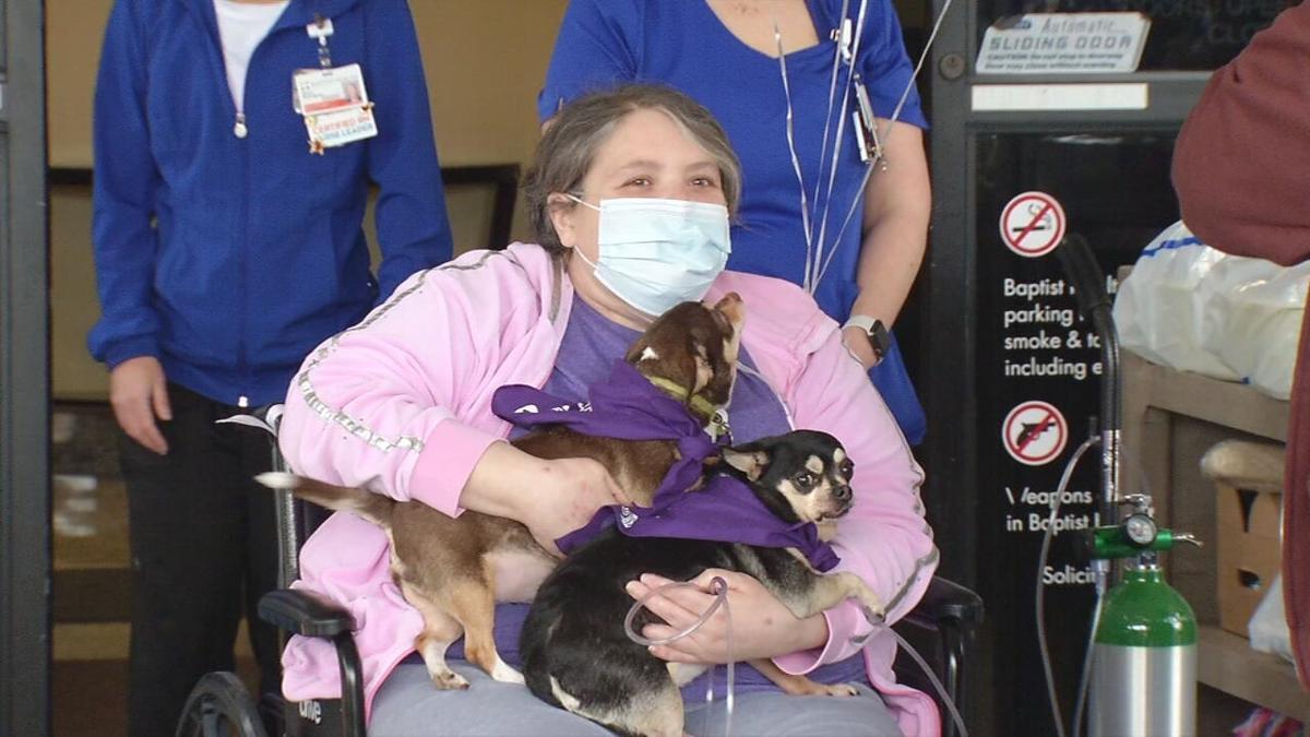 Brianna Heitzman, COVID-19 survivor, discharged from Baptist Health Louisville