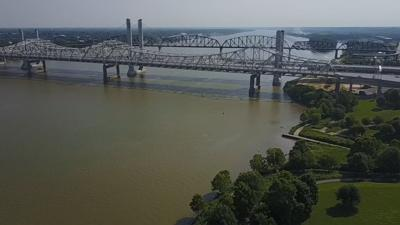 Traffic dips -- then climbs -- on Ohio River toll bridges during spring months