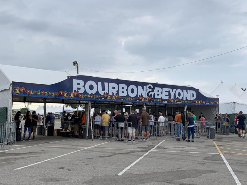 Bourbon and Beyond begins with grumbling about noise from the festival