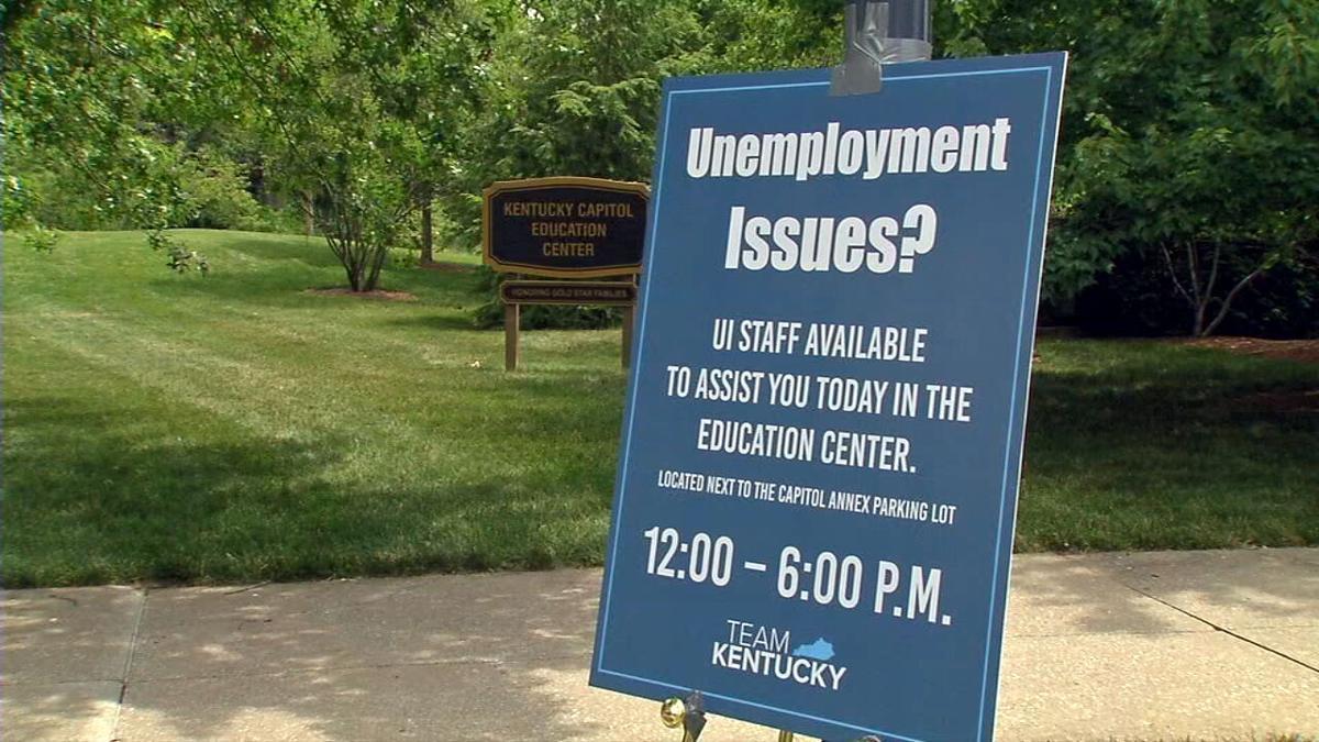 unemployment issues sign kentucky