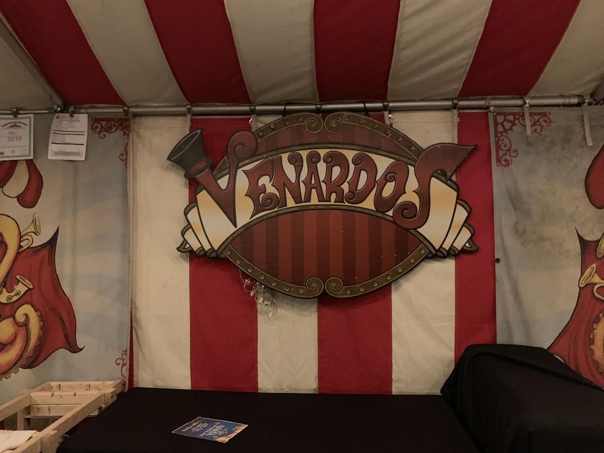 Venardos Circus Tent Interior