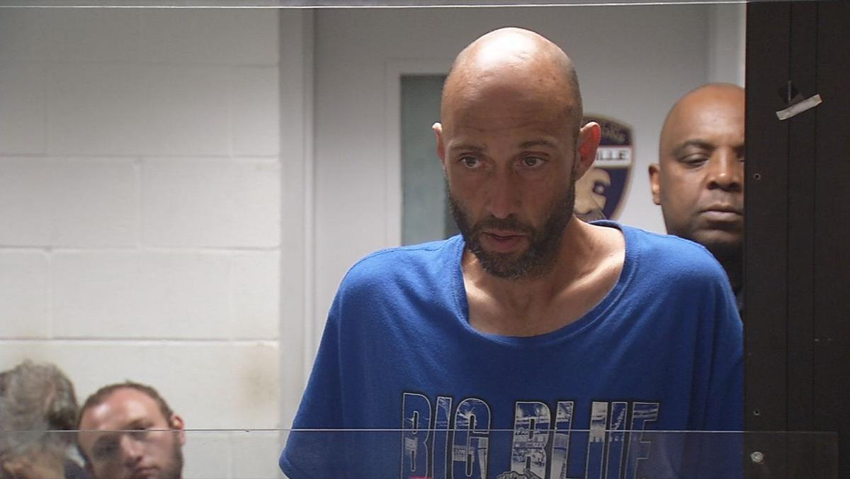 Cory Knight arraignment (robbery suspect)