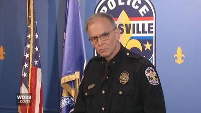 LMPD Chief Steve Conrad says number of police shootings recently is 'concerning'