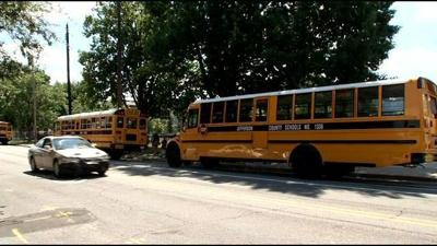 Parents address first day at JCPS; transportation issues
