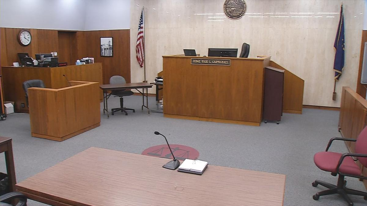 Indiana courtroom