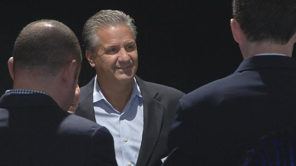 John Calipari headlined the annual UK tip-off luncheon in Louisville