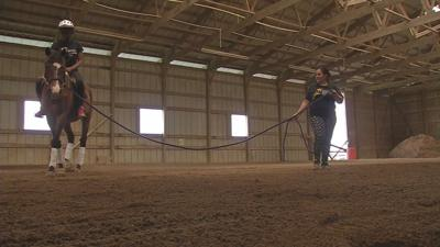 Academy @ Shawnee equestrian club takes students to the farm