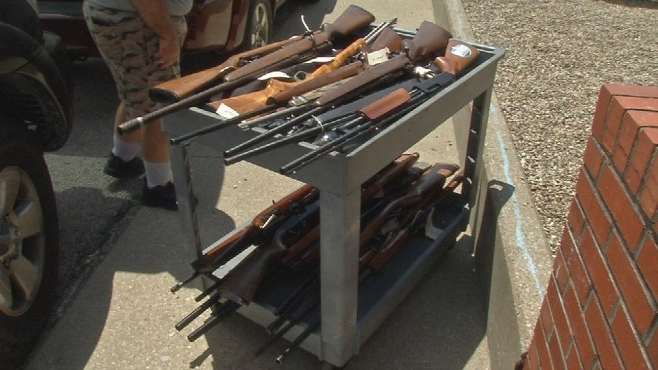 confiscated weapons sold to fund police equipment news wdrb com rh wdrb com