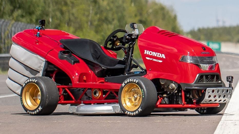 Honda Lawn Mower Speed Record via Fox News
