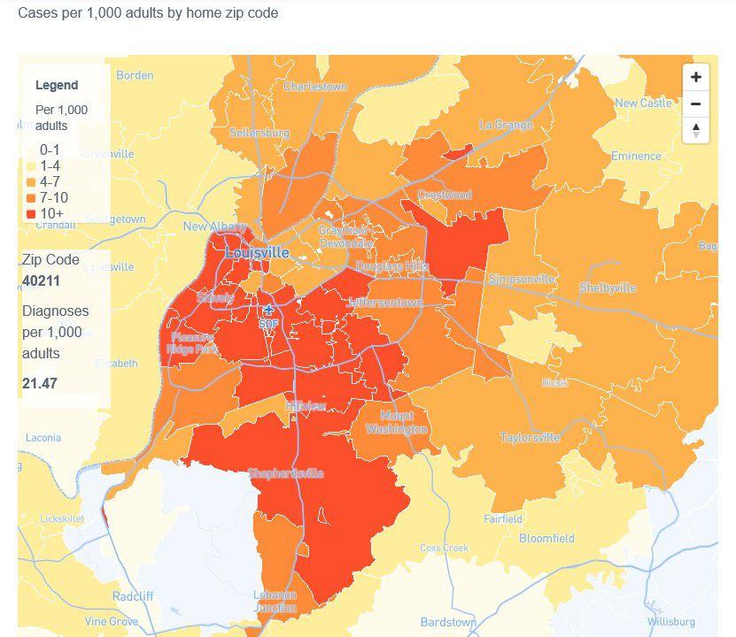 Flu map