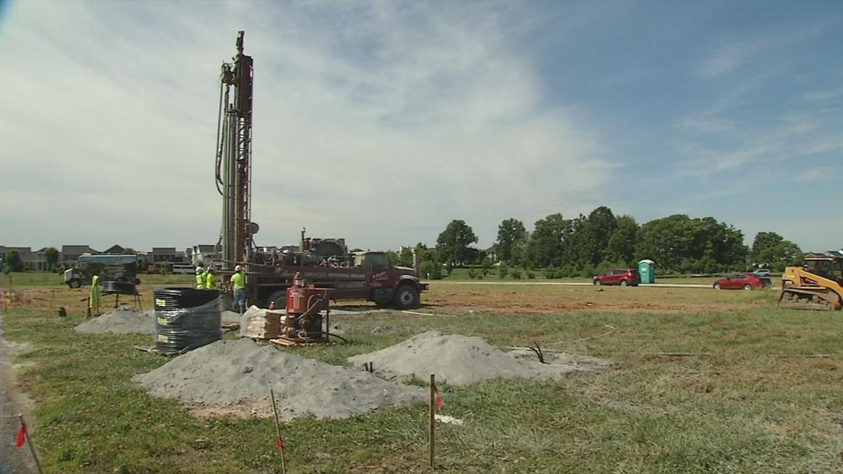 Norton Commons going green with geothermal energy