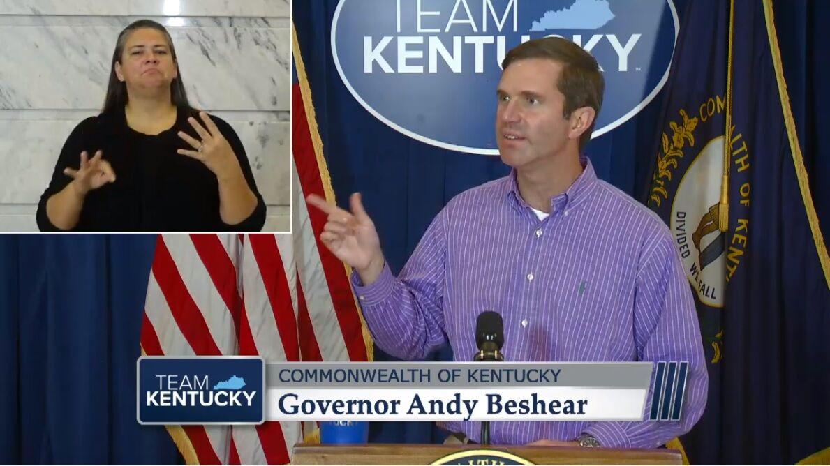 Gov. Andy Beshear, Sept. 30, 2020