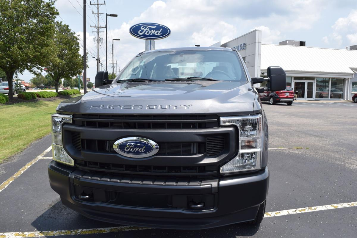 Ford Super Duty Truck on Carriage Ford lot.JPG