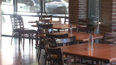 Empty Restaurant Tables