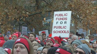 Indiana Teacher Protest 2019