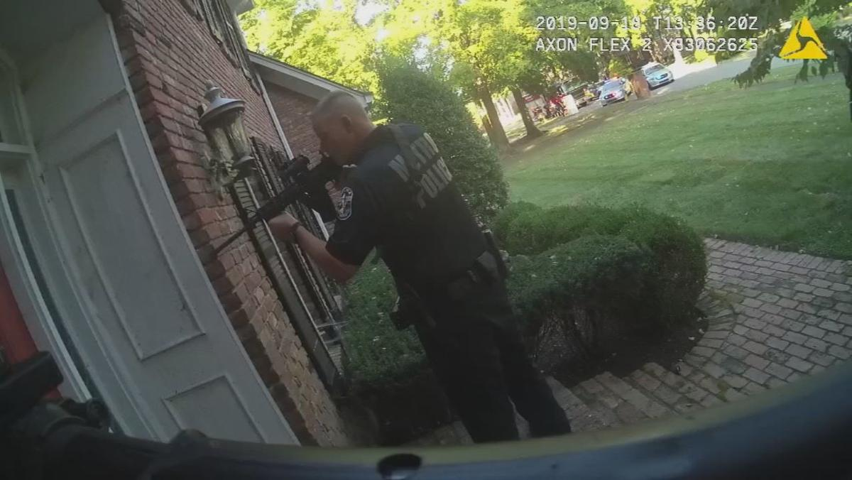 Body cam shows rough treatment of elderly Jeffersontown man slammed by police