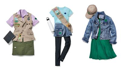 Girl Scout New Uniforms