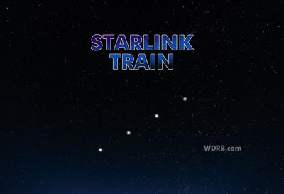 Spot the Starlink Train in the Sky Tonight