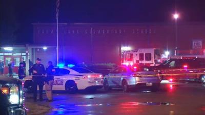 1 dead, 1 injured in shooting outside Crums Lane Elementary School