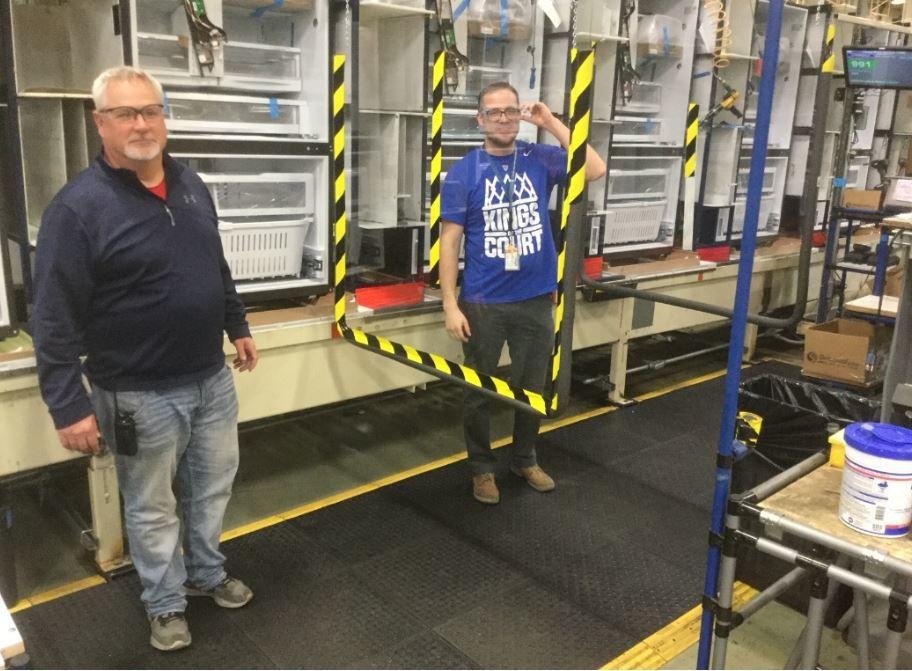 GE Appliances barriers