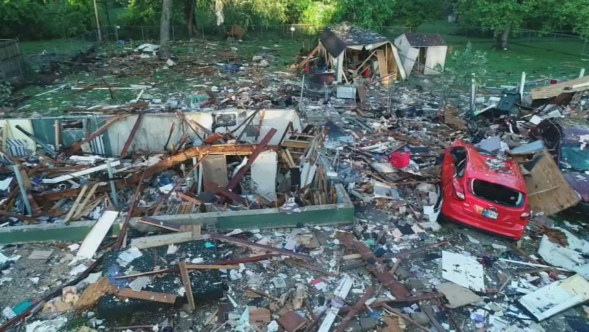 Jeffersonville Explosion Drone Closer - 5-20-19