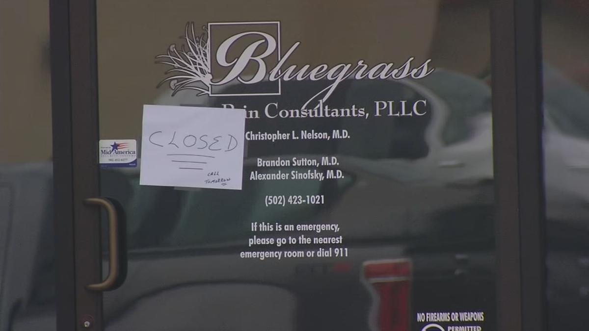 Bluegrass Pain Clinic closed