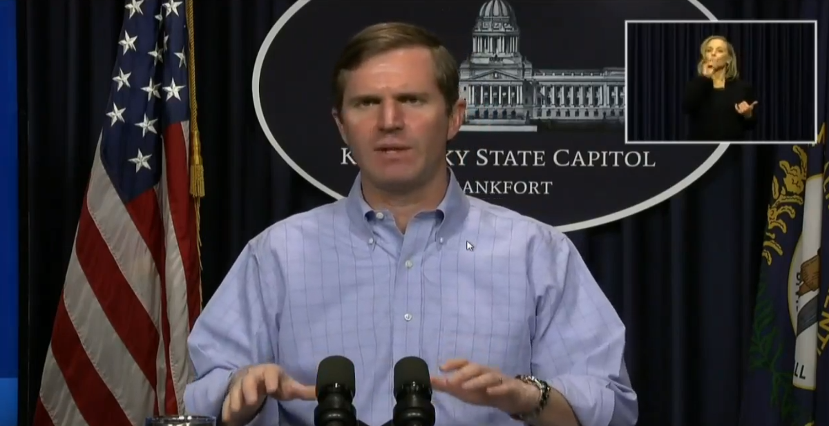 Andy Beshear briefing 4/19/2020