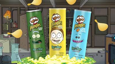 Pringles Rick and Morty Edition