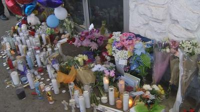 murder gas station memorial Etown