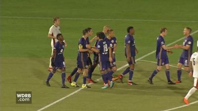 Louisville City FC facing Major League Soccer team Tuesday night