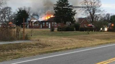 Fire destroys only Catholic church in Hart County, Ky.