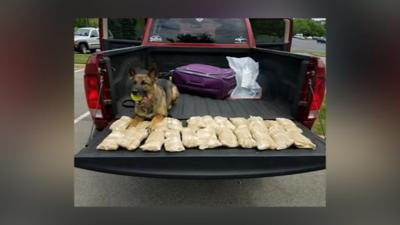 LMPD seizes 29 pounds of crystal meth headed to Louisville