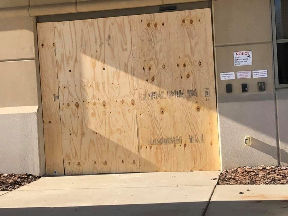 Damage to Baptist Health Hardin after car crashes into building