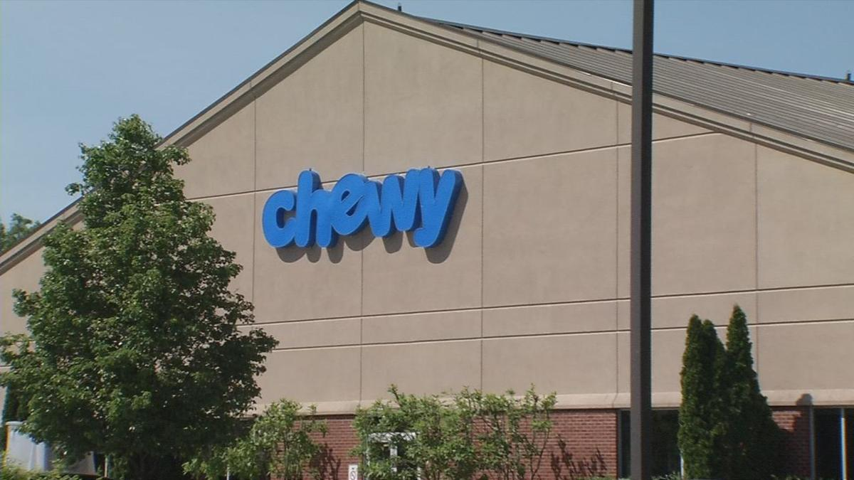 Chewy building on Fern Valley Road