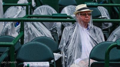 Fan at Derby