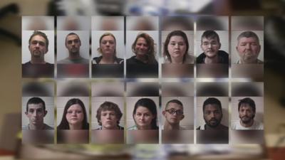 Police make several arrests after finding meth, marijuana and pills