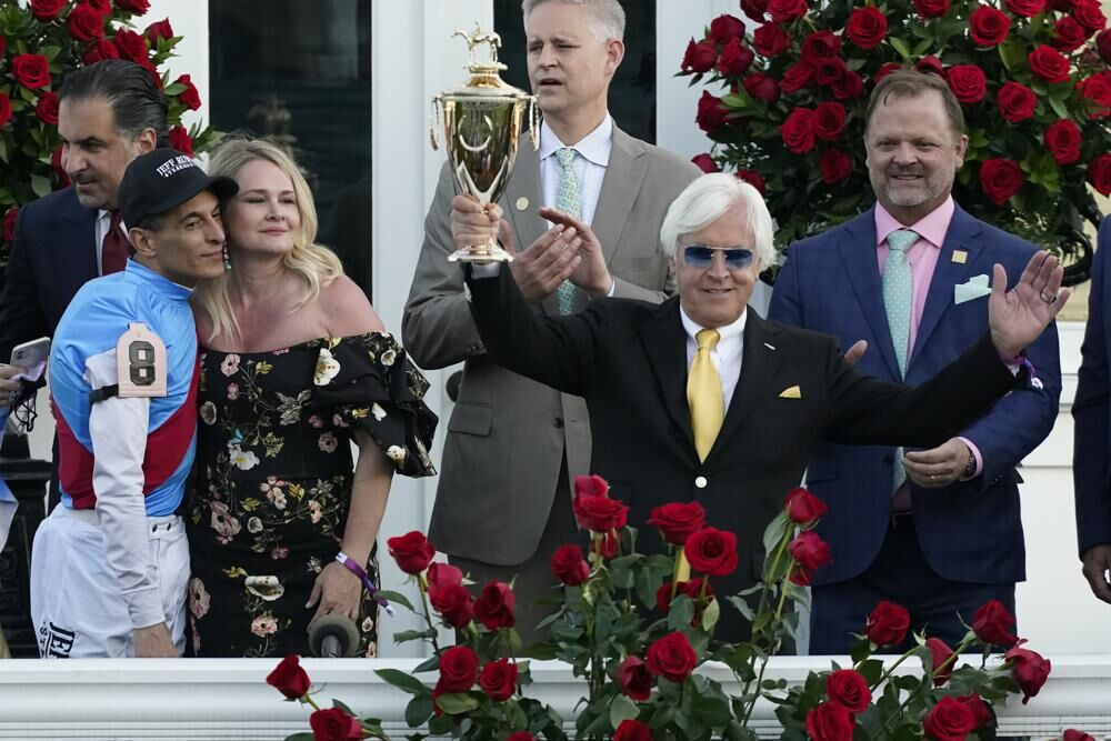 Jockey John Velazquez and Bob Baffert.jpeg