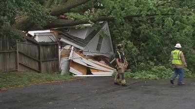 IMAGES | Storms leave damage throughout Kentucky and southern