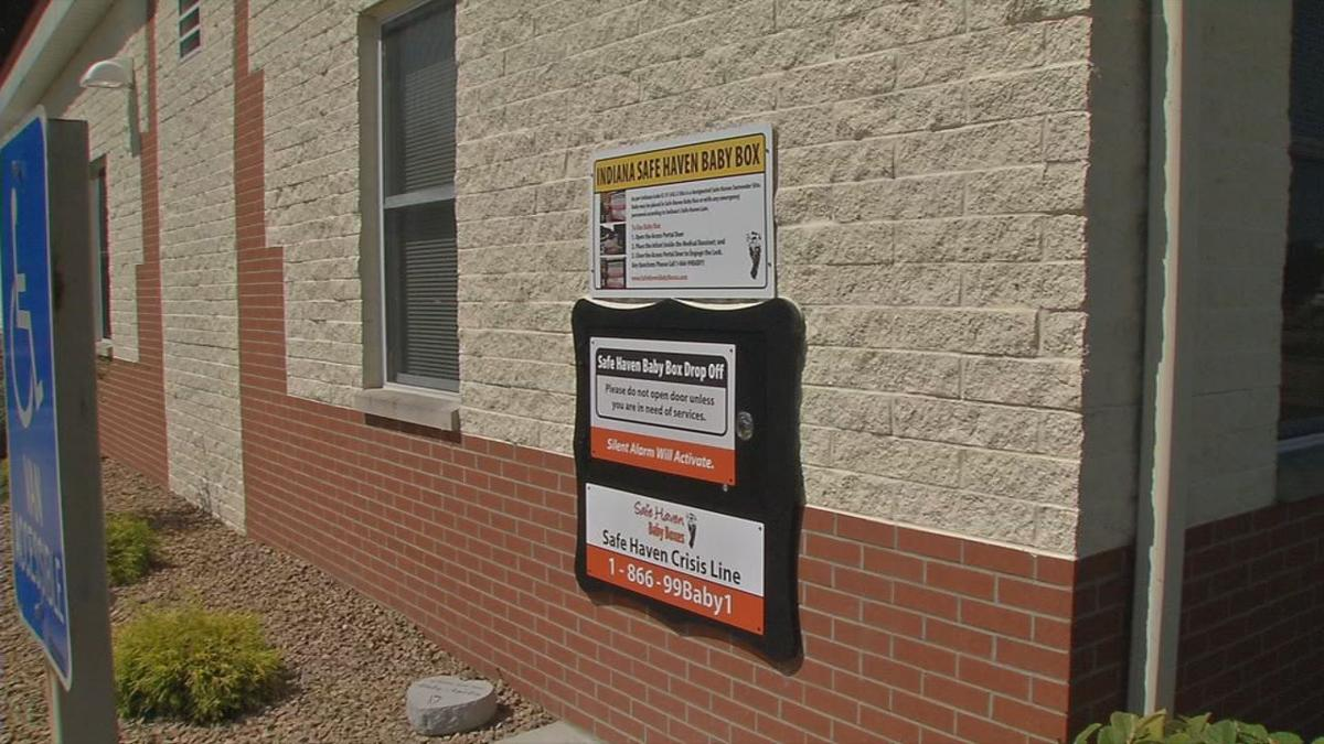 Seymour, Indiana fire station installs Safe Haven Baby Box