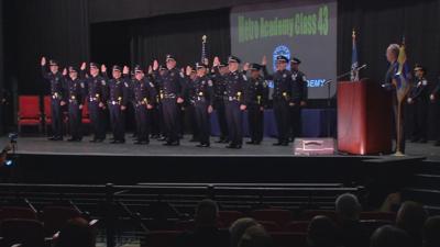LMPD graduating class of cadets 4-19-19