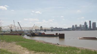 Ohio River from Indiana side