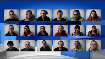 18 arrested in drug bust, police chief credits grant program