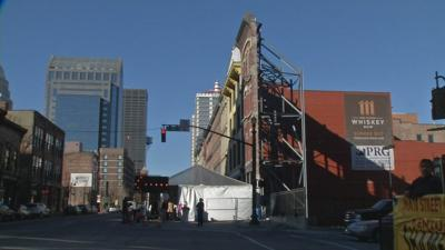 Crews break ground on 2 Whiskey Row hotels with very different styles
