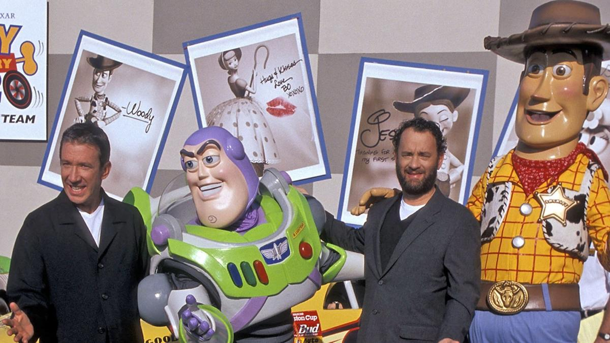 Hanks Allen Toy Story Photo