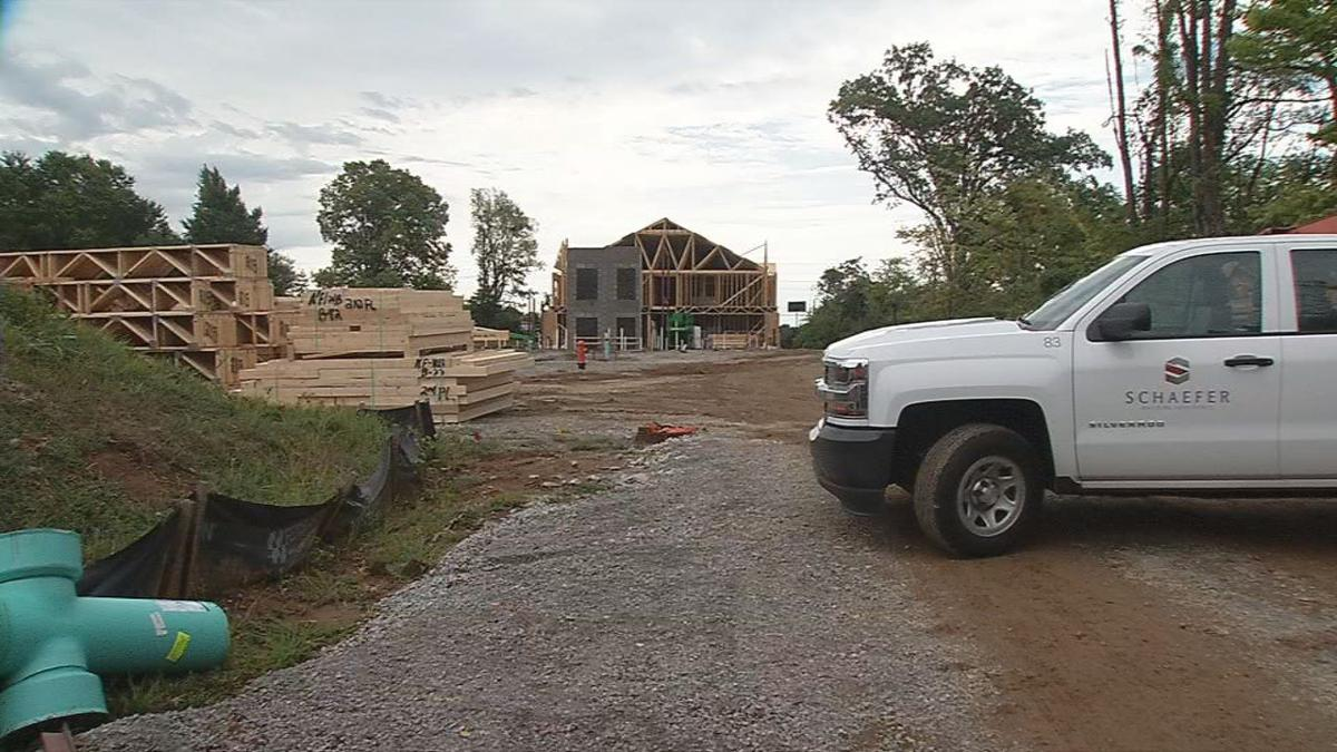 Construction site for Everlan, in Louisville's Northfield community