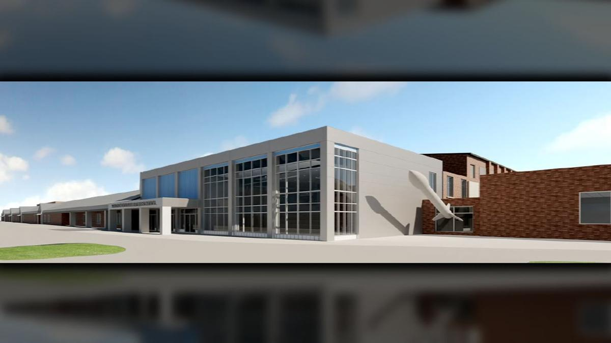 Shelby County renovation renderings